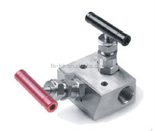 Two valve manifolds, ss316 valve manifolds
