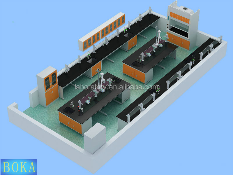 Lab Work Bench Electronic Lab Bench Dental Laboratory