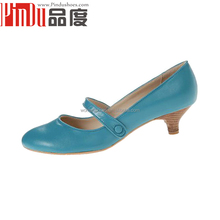 Solid Patent leather low Heel Women Pumps Slip On Pointed Toe Women Dress Shoes For Office