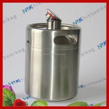stainless steel keg 64oz mini oak beer barrel