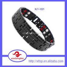 Healthy energy element bracelet mens titanium germanium bracelet