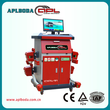 wheel alignment turntables, Precise manual Mechanical alignment equipment Cost with CE