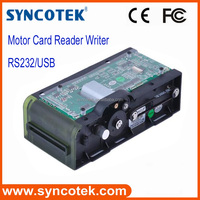 Factory price smart card reading usb motorized card reader with LED bezel