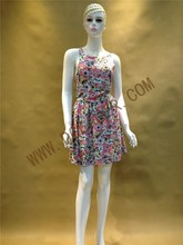 Original Design Fashion OEM Dress Ladies Floral Print Backless Sexy Rayon Fancy Dresses