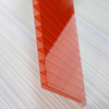 Service temperature polycarbonate solar plug sheet with special accessaries