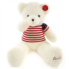 Stuffed Animal Plush toy teddy bear white color Giant toy