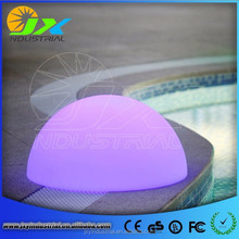 Events Decorative Waterproof Plastic RGB Led Ball/Led Half Ball/Christmas Led Light Balls