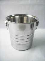 steel ice bar bucket factory