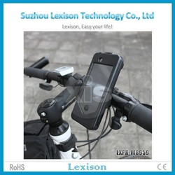 Bike Waterproof Phone Case Bag Pouch Mount Mobile Phone Holder For iPhone 4 4S