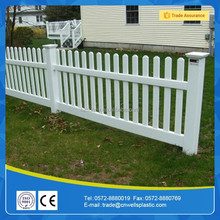 pvc picket fencing for garden use, strong uv resistance