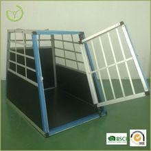 Aluminum + MDF dog cage/large steel dog house