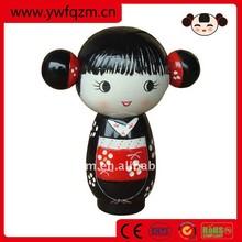 Japonês boneca de cerâmica cerâmica boneca de natal boneca de cerâmica cabeças e mãos