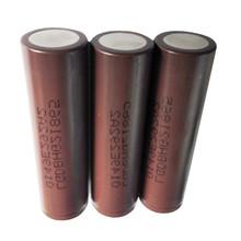 Best Selling lghg2 3000mah 3.7v lithium battery lg hg2 brown 18650 3000mah 35 amp lg hg2 18650 battery