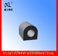 Rubber inner tube material/rubber foam insulation tube car/door/window EPDM seal