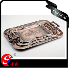 decoration tray sets 3 sizes for wedding events party