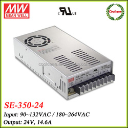 Meanwell 24 volt switching power supply SE-350-24