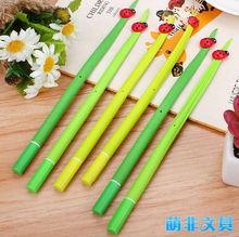 New ladybug rubber gel ink pen for promotion
