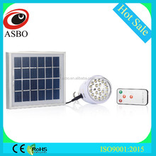 Indoor & Outdoor Solar LED Emergency Light With Remote