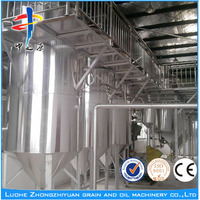 Low price 10~500TPD stainless food oil filter