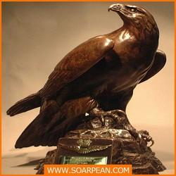 FRP Large fiberglass eagle Statue,eagle sculpture
