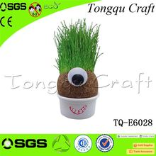 Fashinable real estate promotional products grass head craft wholesale promotional items , anniversary gifts