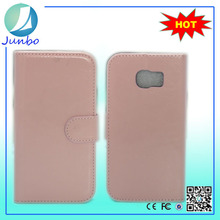 Fashionable Leather Wallet Mobile Phone For Elderly Case for Samsung Galaxy S6