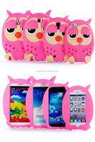 cute soft sillicon hot TV series successor cartoon owl bird Phone Cases for iphone 4 4s 5 5S Samsung LG Motorola HTC