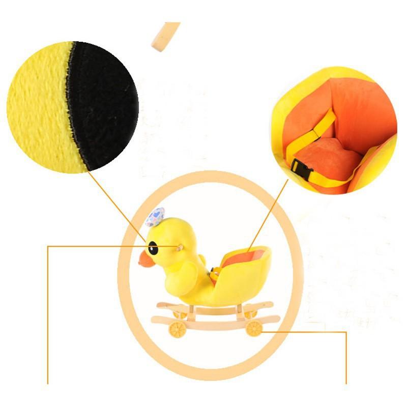 68 28 53 cm en peluche rock canard jouet b b enfants. Black Bedroom Furniture Sets. Home Design Ideas