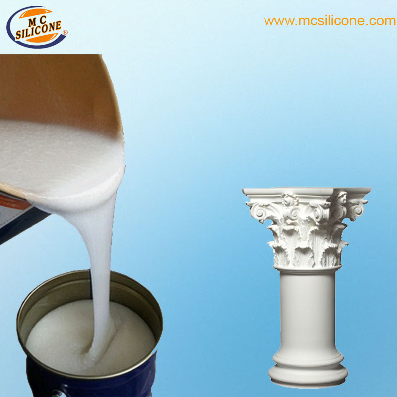 Silicone RTV para fabricação de moldes de fundição de colunas de concreto