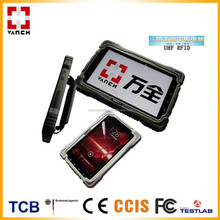 long range rugged tablet pc uhf rfid android quad core