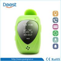 2014 Hot Sale Kids Wrist Watch Unlocked Cell Phone GPS Tracker GSM GPRS SOS Wrist Watch JM09