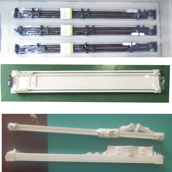 plastic curve curtain rod