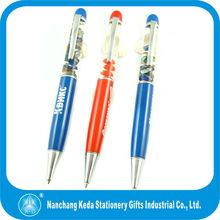 2014 Metal Liquid pen/Liquid floating pen /floating pen for promotion