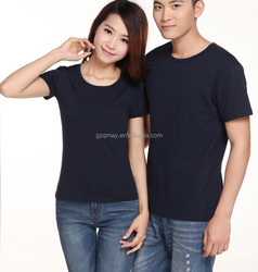 ladies plus size clothing plain slim fit jersey t-shirt black couple stretch t-shirt clothes with fashion fabrics for women