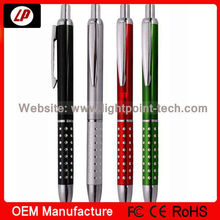 Hotsales feature metal gift ballpoint pen factory wholesale cheap set gift metal pen with cheap set gift metal pen