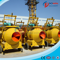 ISO certified small JZC350 concrete mixer for sale in canada