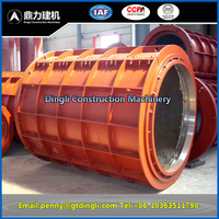 concret pipe mold of roller suspension type