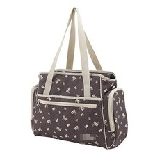 Floral Print Shoulder Tote Mummy Bag Elegant Diaper Bags DB0389