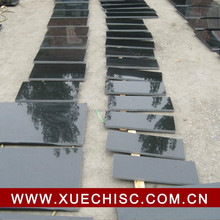Natural nero assoluto absolute black granite tiles slabs 2cm 3cm thickness for sale