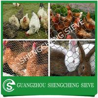 Heavy galvanised chicken coop net hexagonal chicken wire