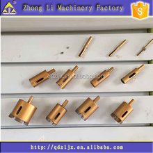 Factory outlet, Diamond core bit, M10 female thread, for drilling holes in concrete