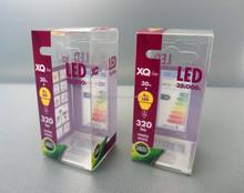 factory customize design LED lamb plastic pvc acetate packaging box