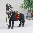 réaliste chiffres fourrure plastiques artificielles jouet animal âne
