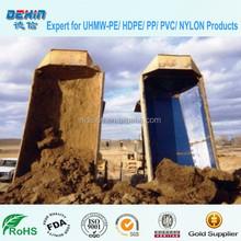 Uhmwpe caminhão duro liner folha / caminhão cama despejo liner preço de UHMWPE