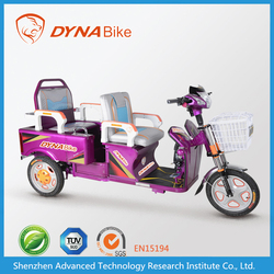 Wholesales 2015 electric tricycle for passengers lead-acid battery