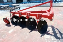 One way side disc plow for tractor