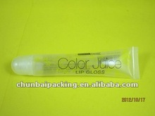25g cosmetic soft plastic tube for lipstick