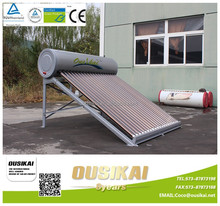 Rooftop Freestanding Installation and CE Certification non-pressurized Hot Water Heater