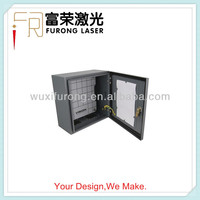 Small Weatherproof Outdoor Iron Sheet Metal Equipment Cabinets