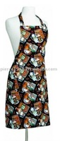 fashion high quality cotton apron with clean style